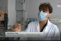 LCPO researchers show some of the bio-based polymers developed in the LCPO on National News thumbnail