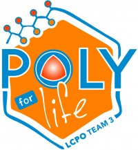 Polymer self-assembly and life sciences logo